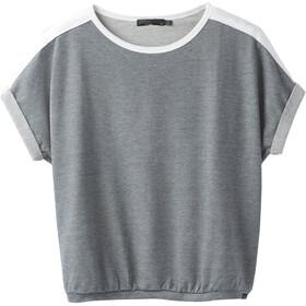 Prana Zosia T-shirt zippé Femme, coal